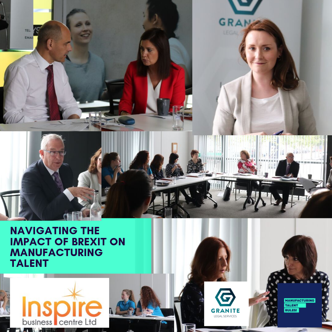 Granite Legal Services Workshops – Navigating the Impact of Brexit on Manufacturing Talent